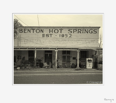 Benton Hot Springs, California