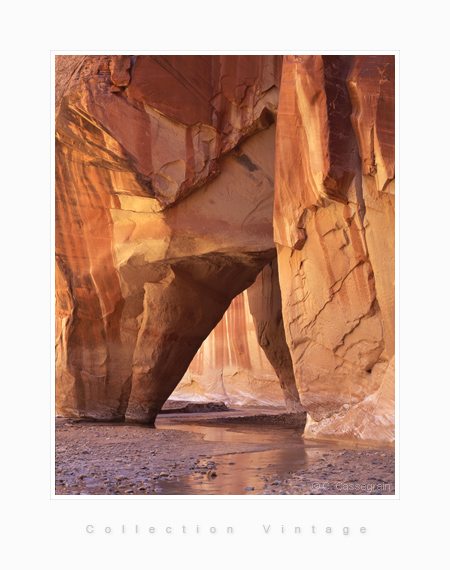 Paria canyon, Sliderock, Arizona
