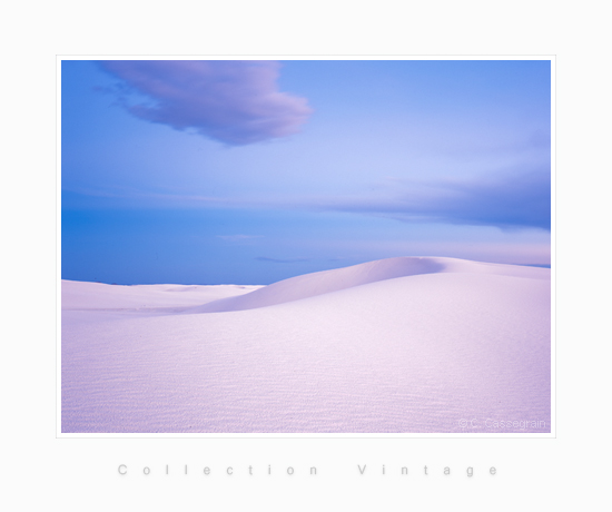 Blue Velvet, White Sands, New Mexico